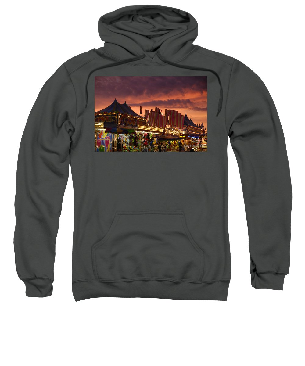 Fair Sweatshirt featuring the photograph Fairsky by David Lee Thompson