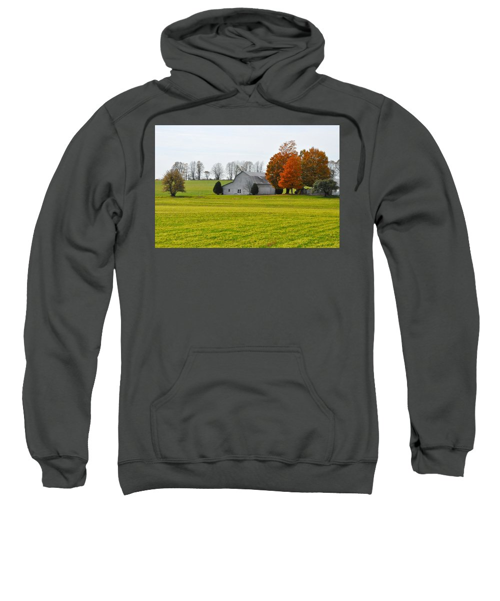 Fall Sweatshirt featuring the photograph Fall Field by Tim Nyberg
