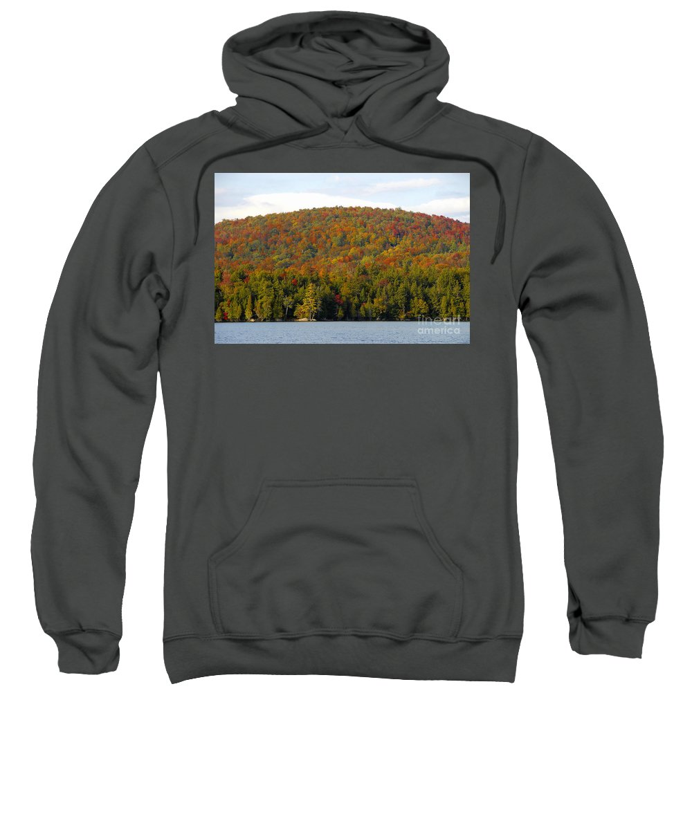 Fall Sweatshirt featuring the photograph Fall Island by David Lee Thompson