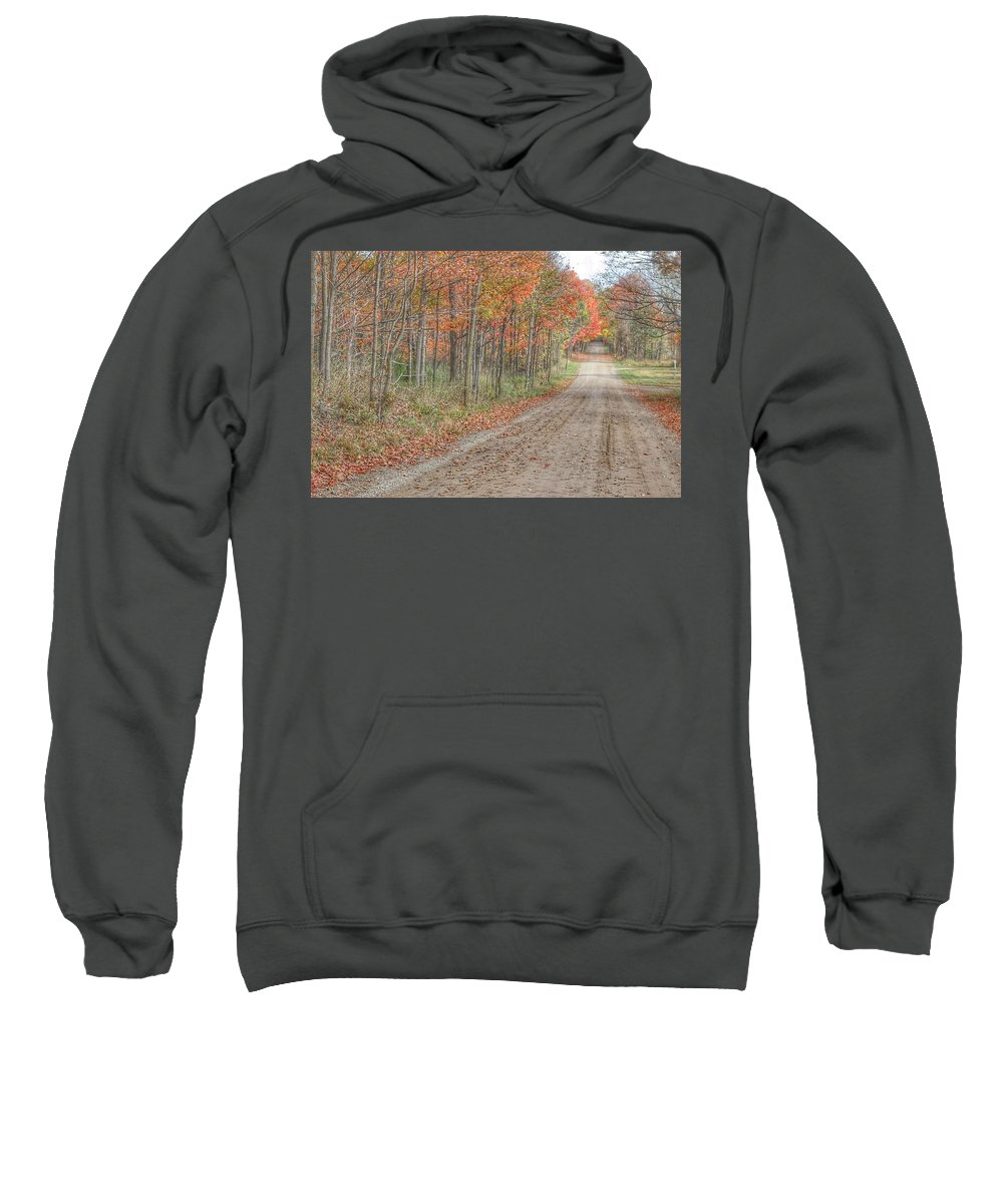 Sweatshirt featuring the photograph 9018 - Fall On Murphy Lake Iv by Sheryl Sutter