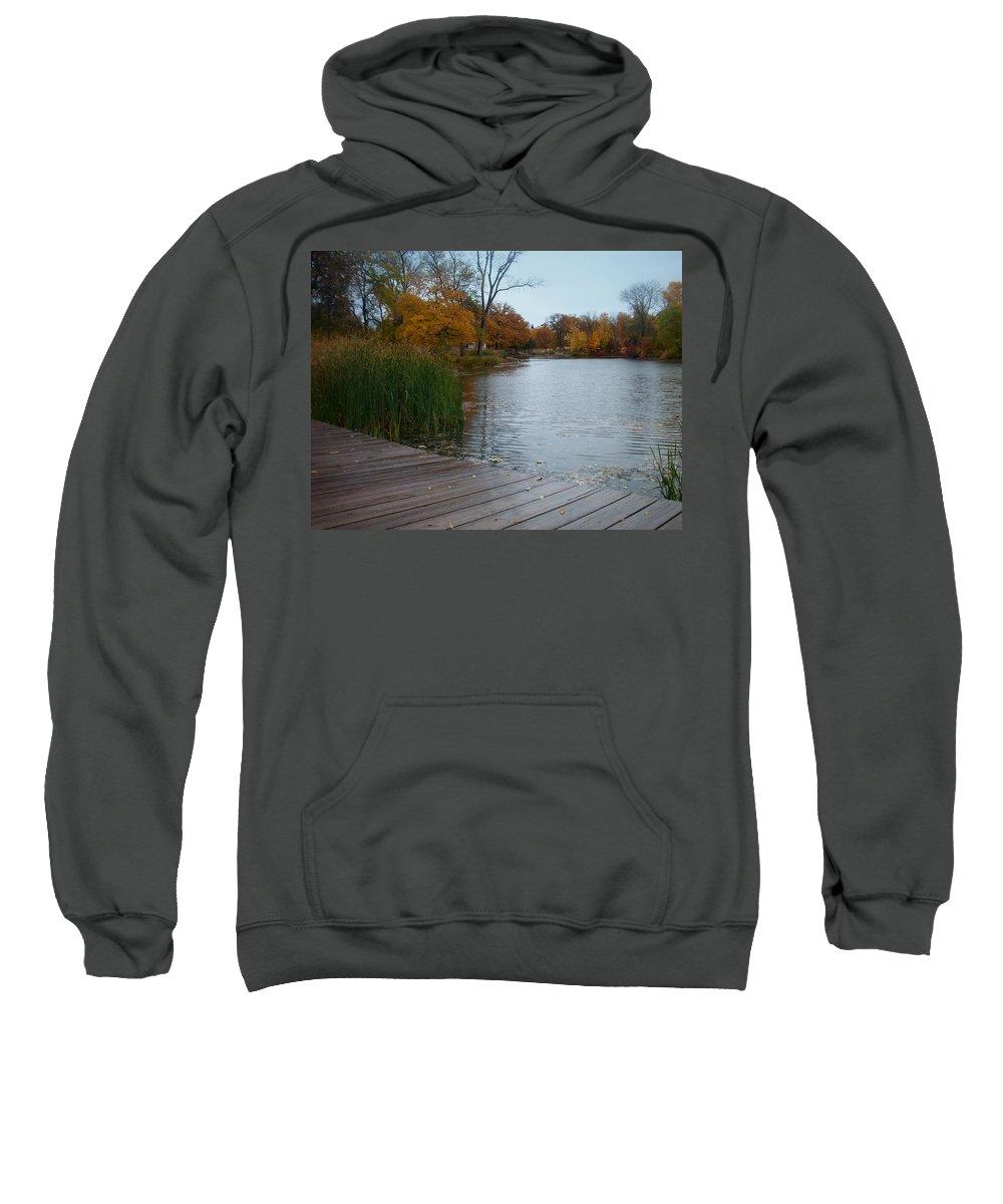 Fall Sweatshirt featuring the photograph Fall Series 10 by Anita Burgermeister