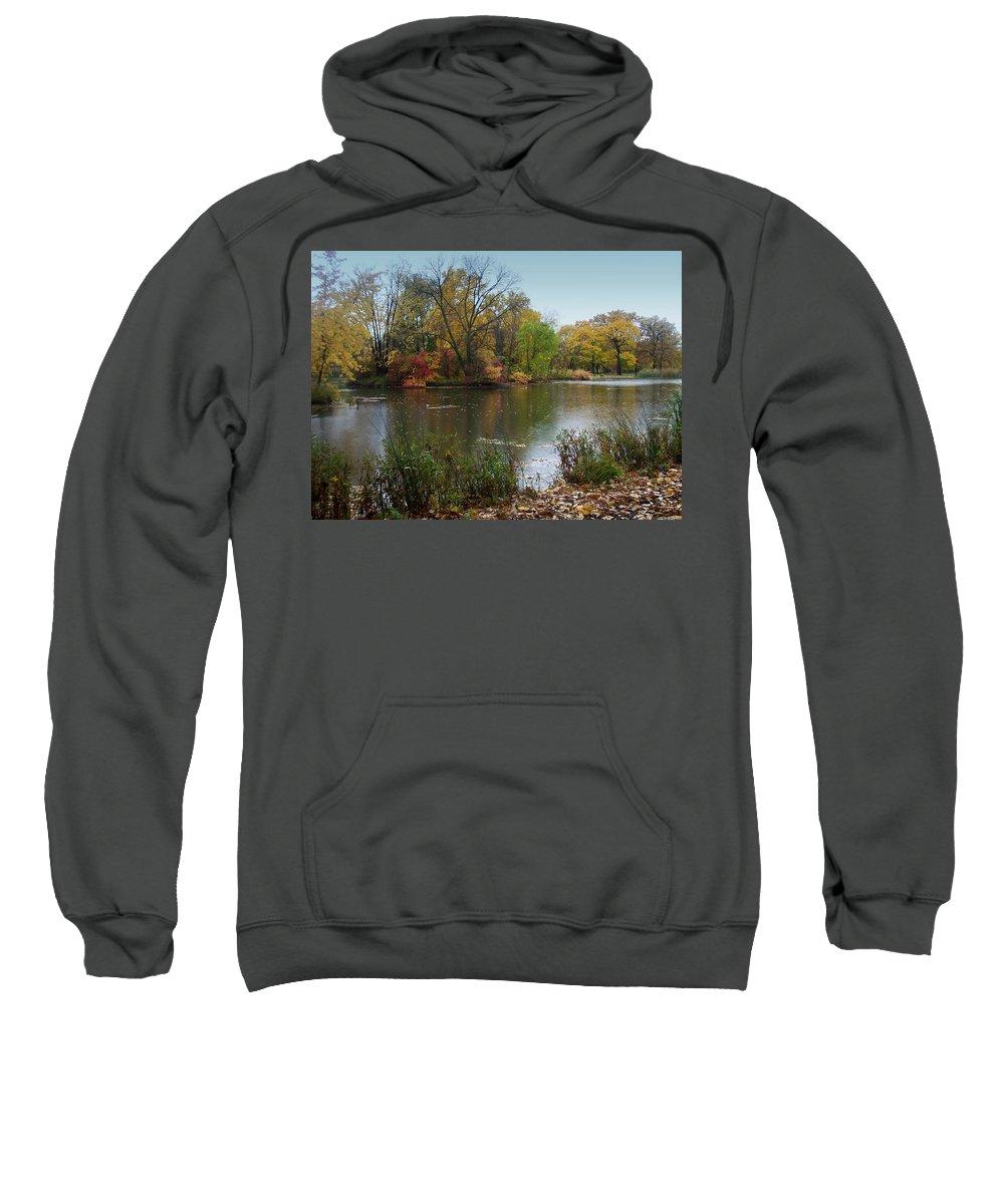 Fall Sweatshirt featuring the photograph Fall Series 8 by Anita Burgermeister
