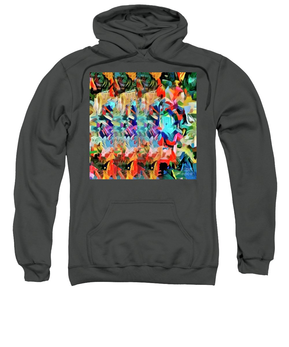 Abstract Sweatshirt featuring the photograph Fantasia I by Jack Torcello