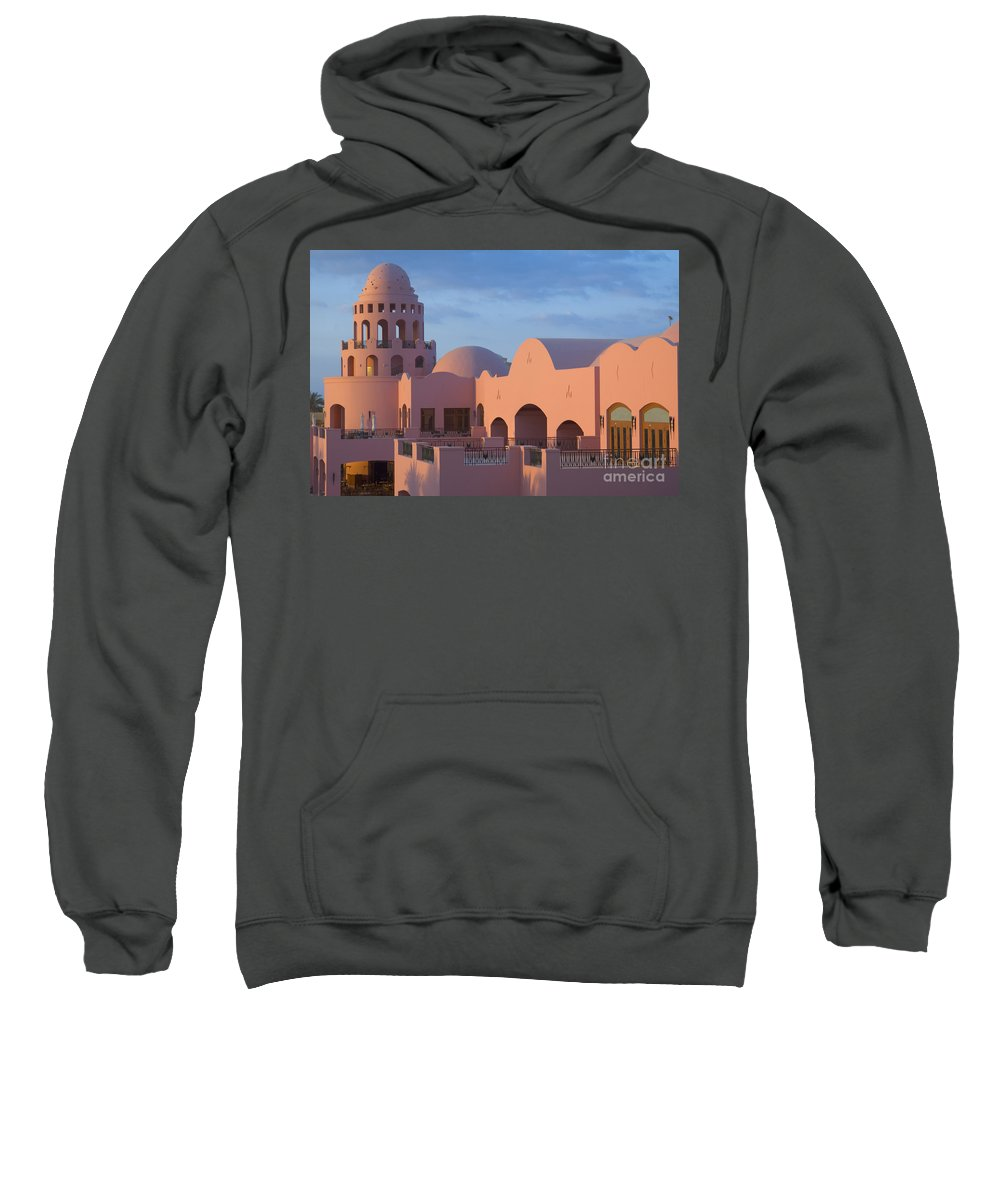 Culture Sweatshirt featuring the photograph Fantasy Castle by Ilan Rosen