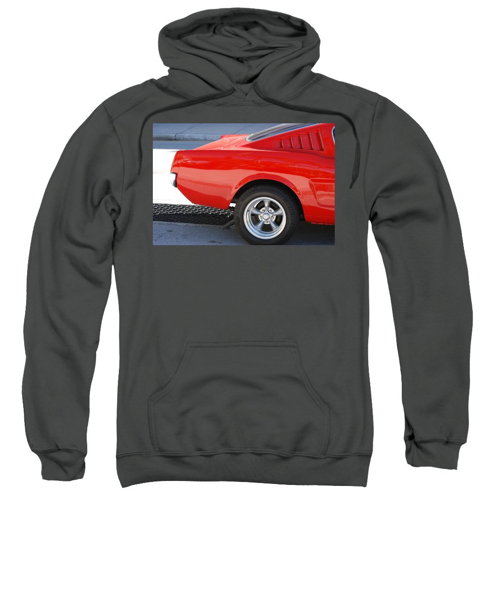 Ford Sweatshirt featuring the photograph Fastback Mustang by Rob Hans