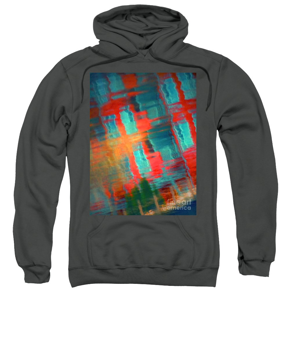 Reflections Sweatshirt featuring the photograph February 15 2010 by Tara Turner