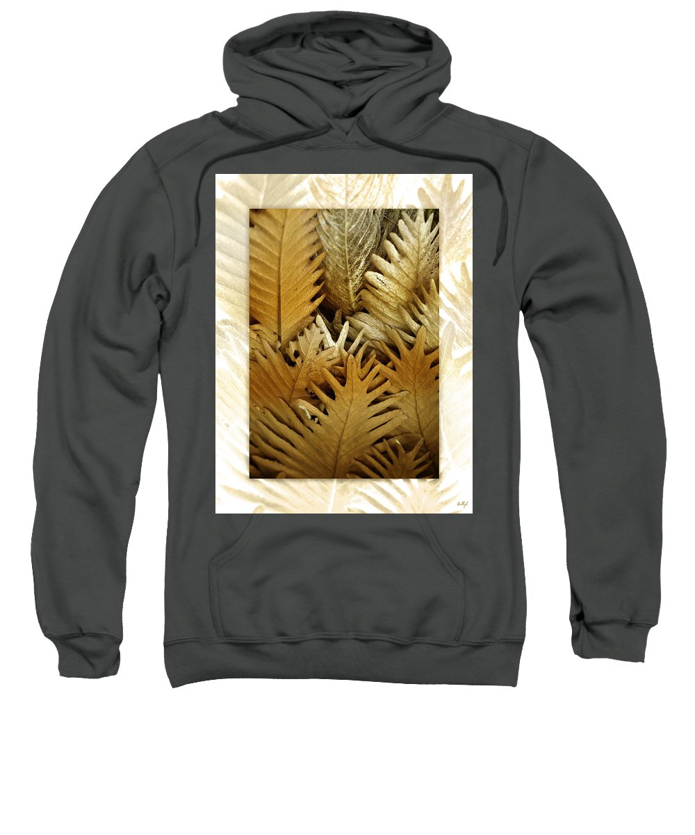 Florals Sweatshirt featuring the photograph Feeling Nature by Holly Kempe