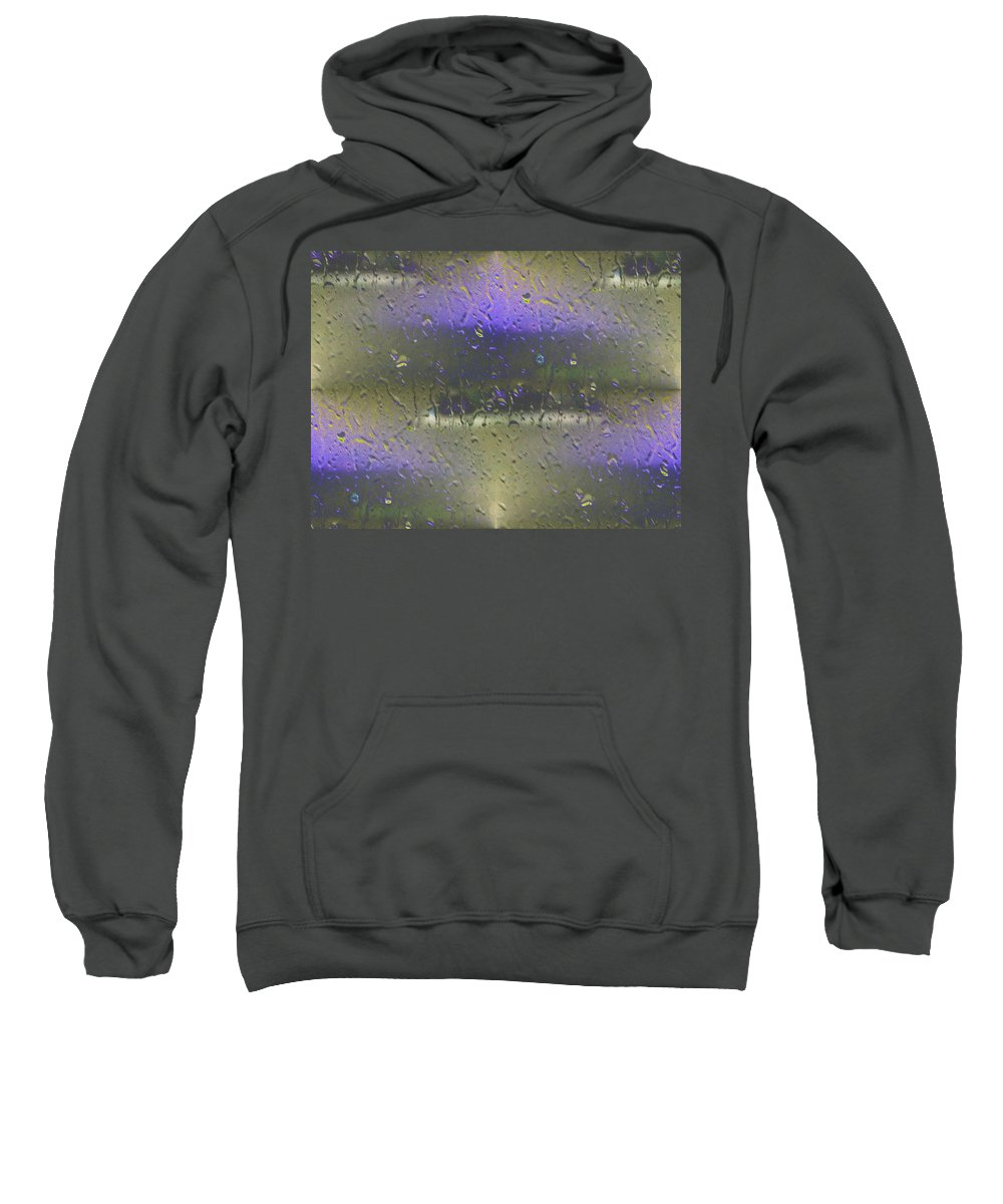 Seattle Sweatshirt featuring the photograph Ferry In The Fog by Tim Allen