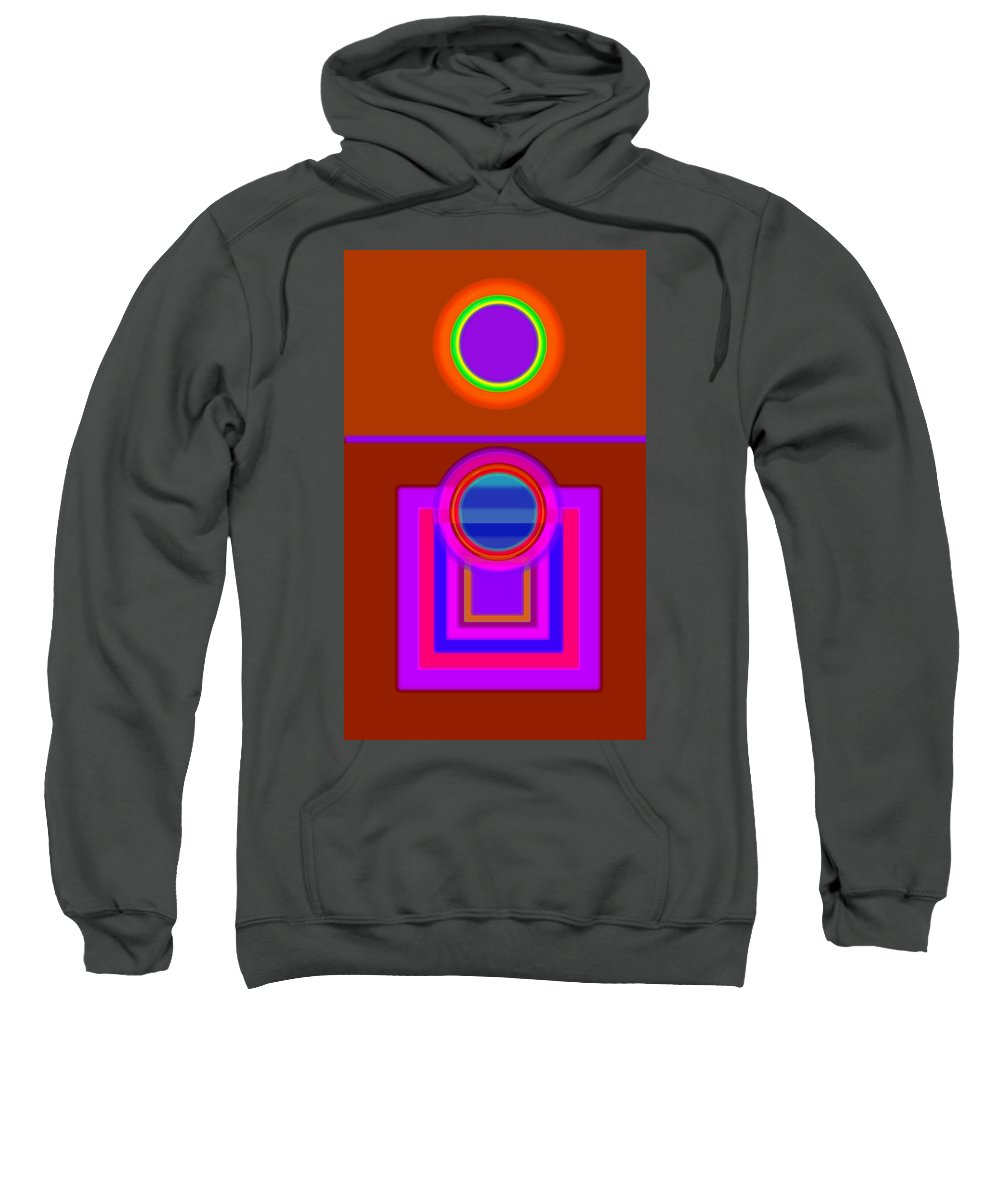 Classical Sweatshirt featuring the digital art Fever Pitch by Charles Stuart