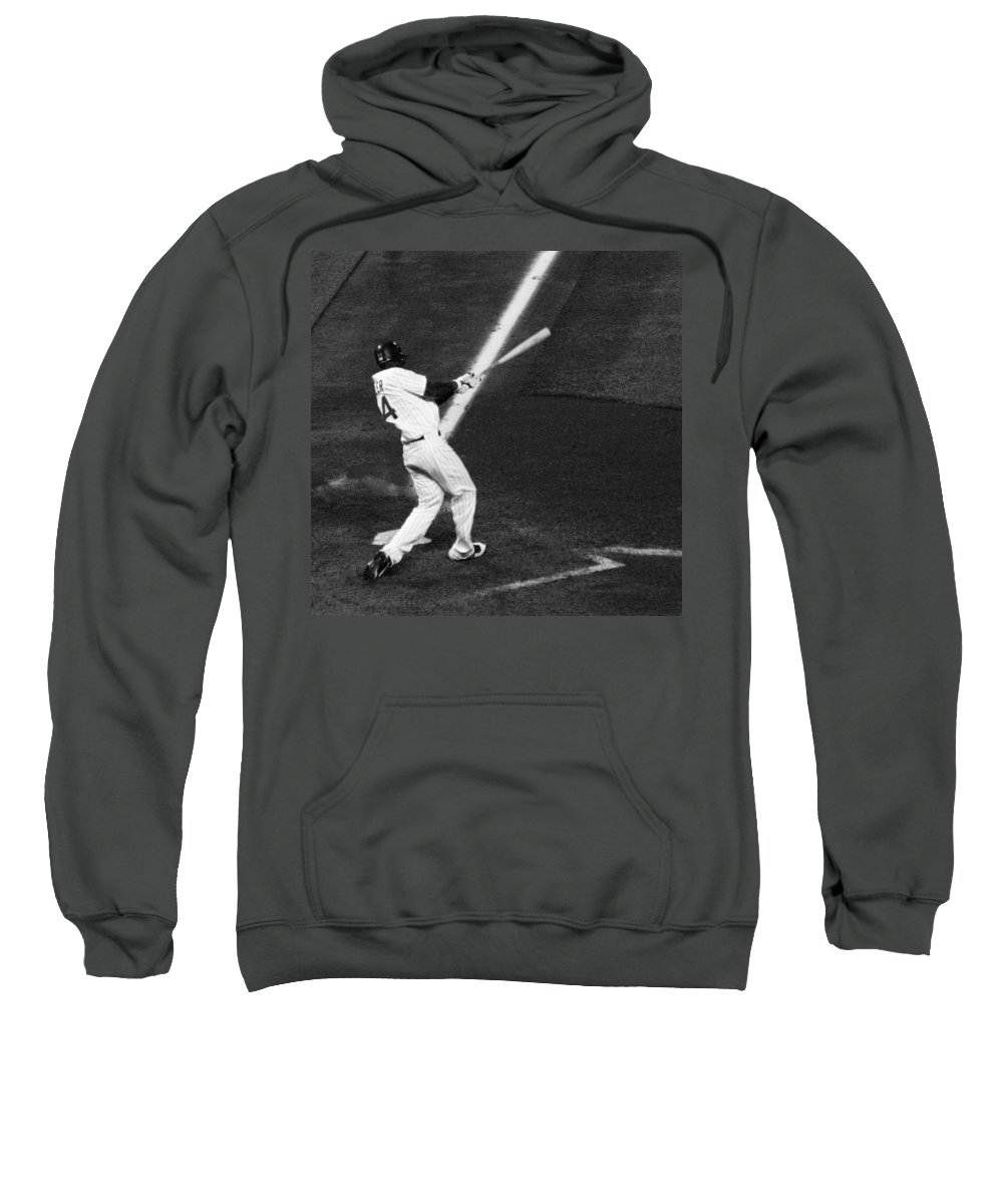 Americana Sweatshirt featuring the photograph Fielder Fowler by Marilyn Hunt