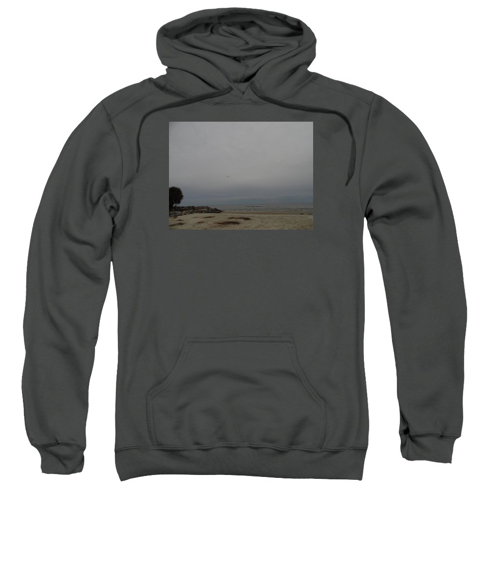 Palm Sweatshirt featuring the photograph Fifth Street by Teresa Palmer