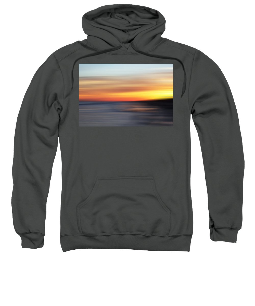 Evie Sweatshirt featuring the photograph Fire And Ice by Evie Carrier