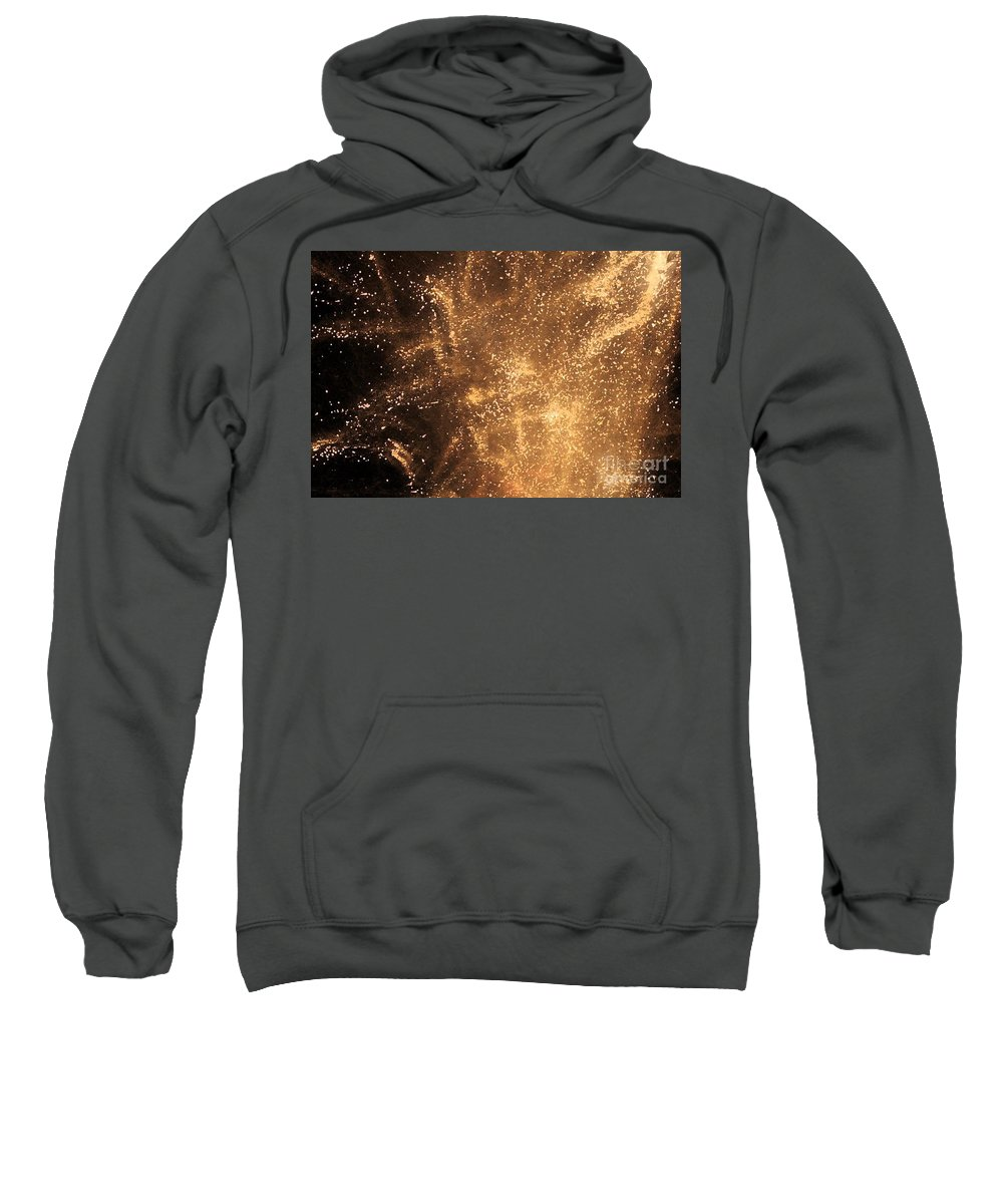 Fireworks Sweatshirt featuring the photograph Fired Up by Debbi Granruth
