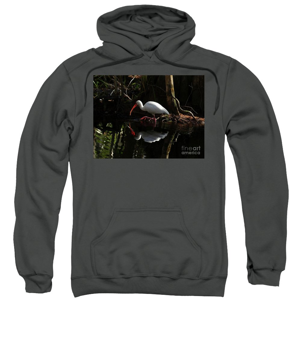 Fired Up Sweatshirt featuring the photograph Fired Up by Teresa A and Preston S Cole Photography