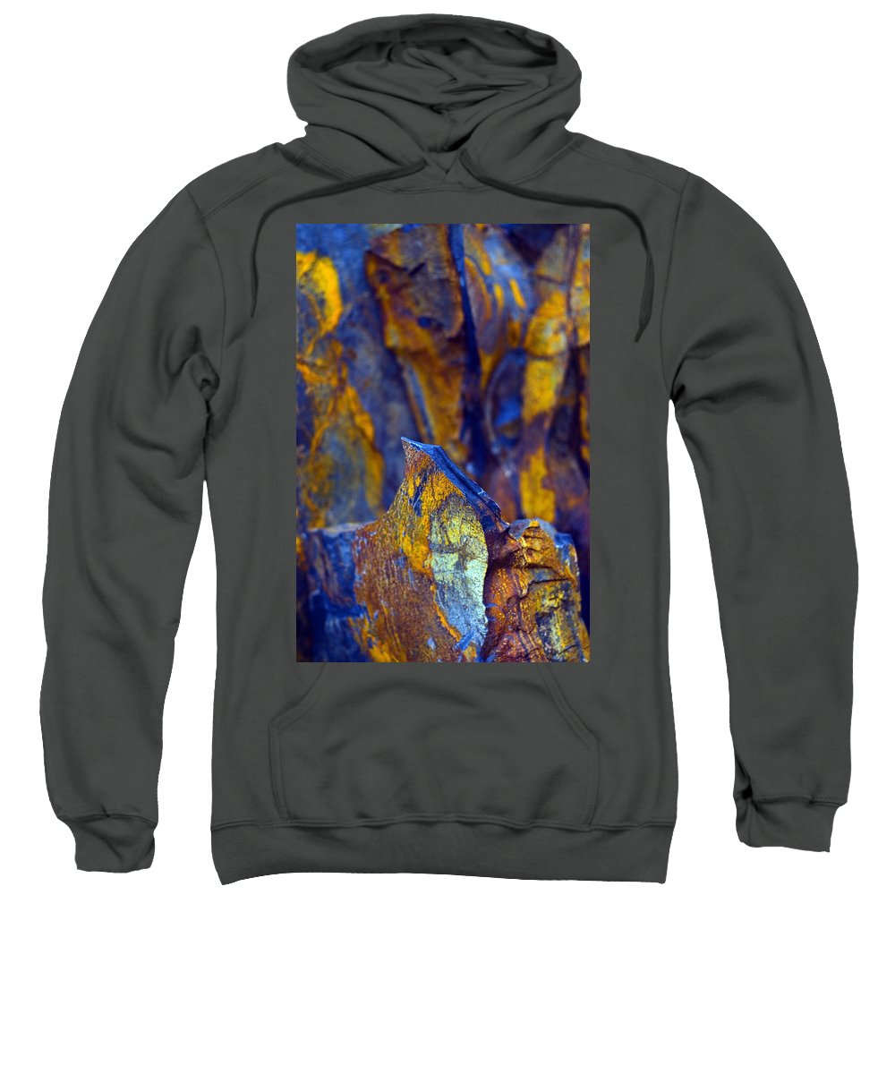 Texture Sweatshirt featuring the photograph First Cut Is The Deepest by Skip Hunt