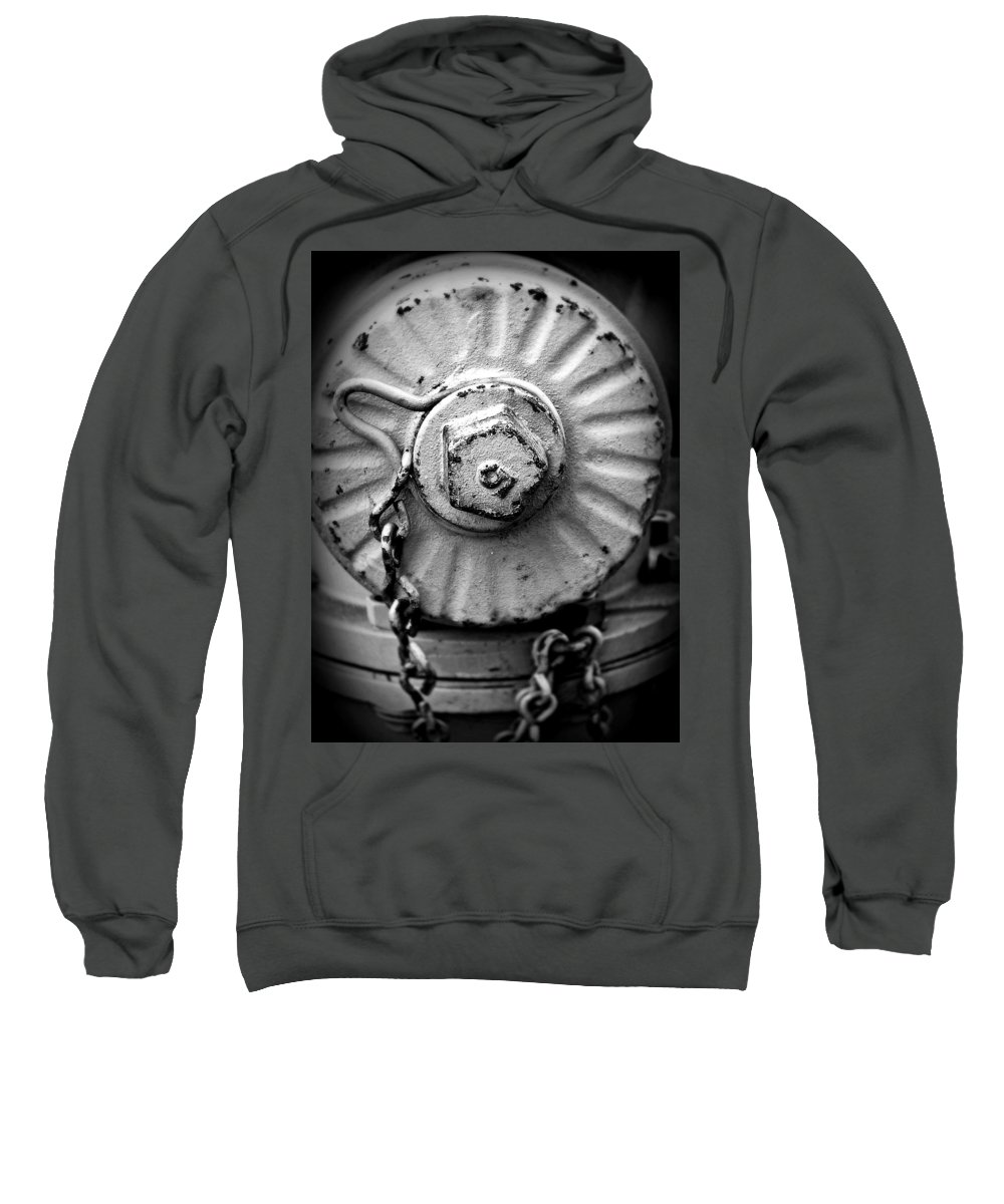 Fire Sweatshirt featuring the photograph Five by Perry Webster