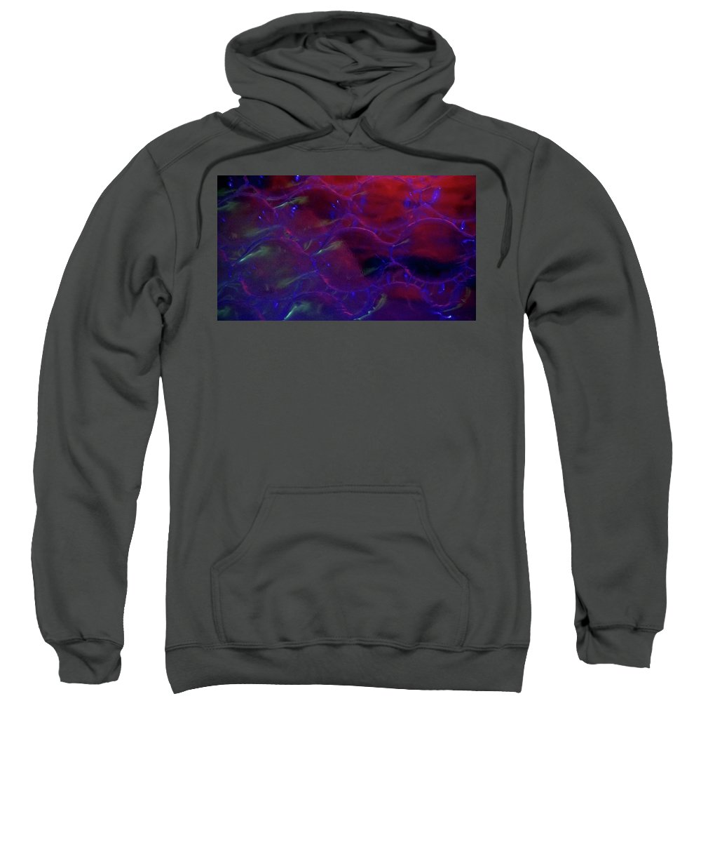 Abstract Sweatshirt featuring the photograph Floating Bubbles # 7 by Paolo Staccioli