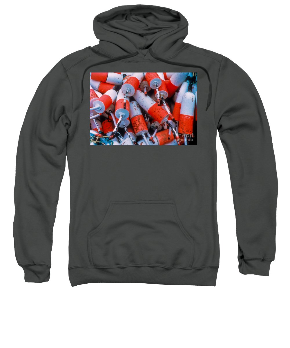 Floats Sweatshirt featuring the photograph Floats by Thomas Marchessault