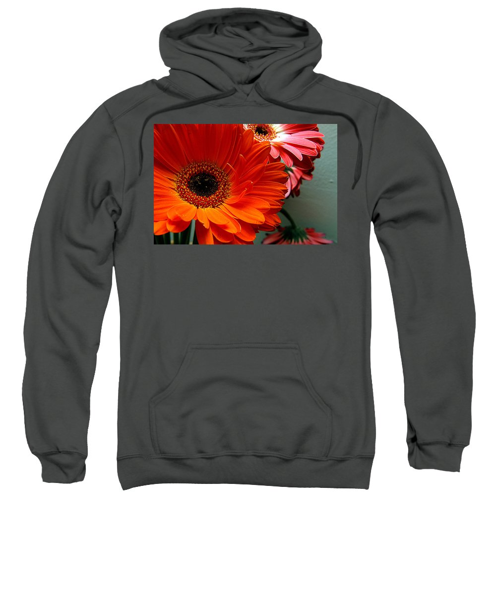 Clay Sweatshirt featuring the photograph Floral Art by Clayton Bruster