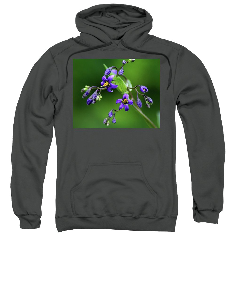 Flowers Sweatshirt featuring the photograph Flower 4 by Ben Upham III