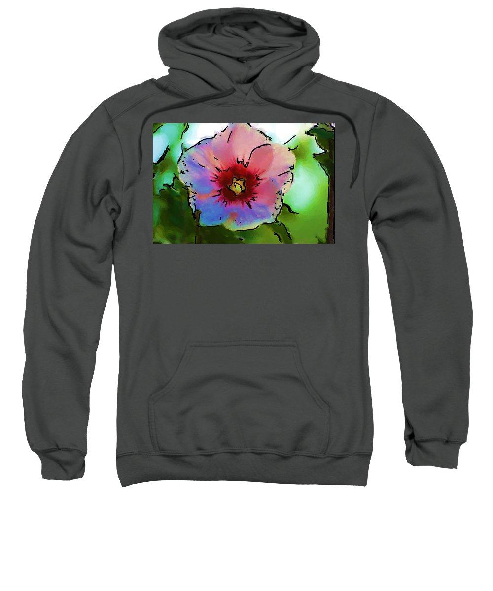 Landscape Sweatshirt featuring the photograph Flower 8-15-09 by David Lane