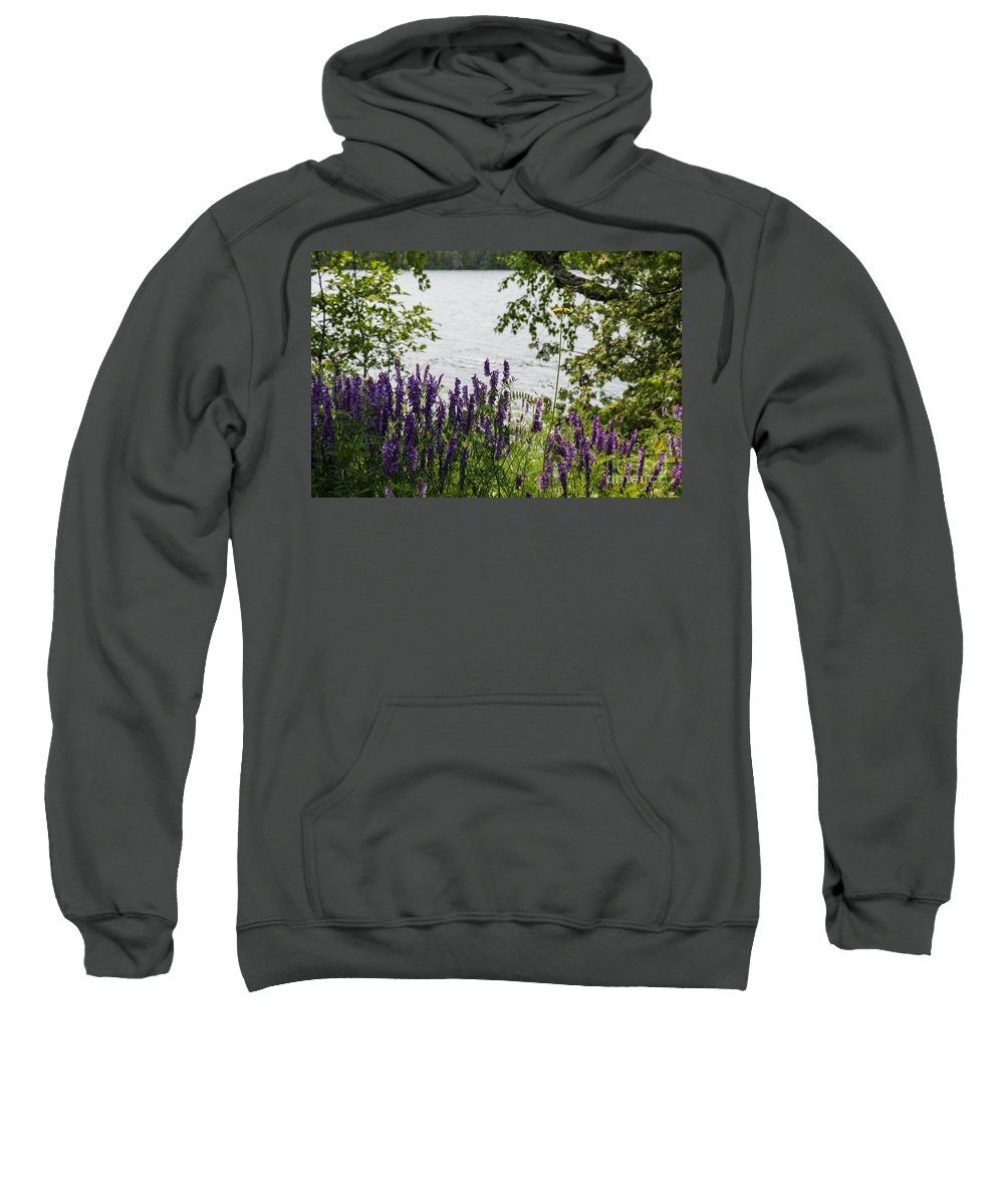 Beauty Sweatshirt featuring the photograph Flowing Beauty by Wesley Farnsworth