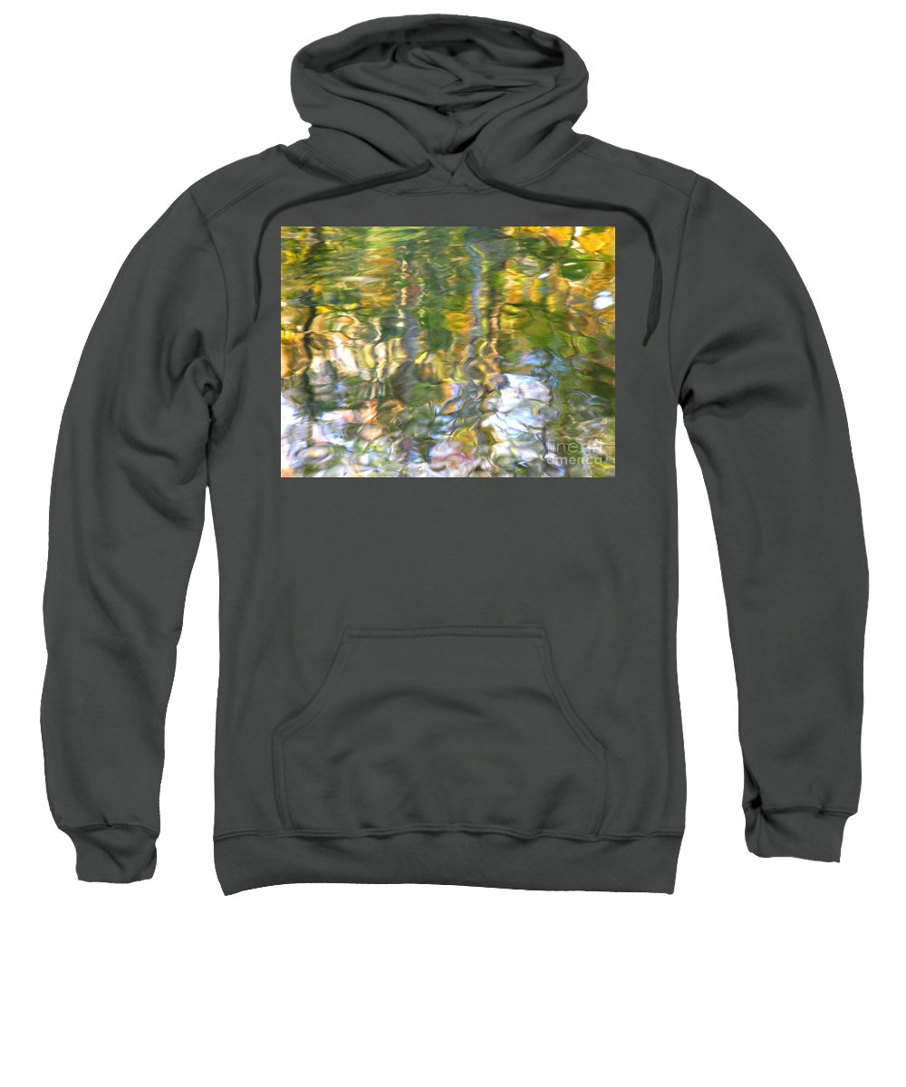 Water Art Sweatshirt featuring the photograph Fluctuations by Sybil Staples