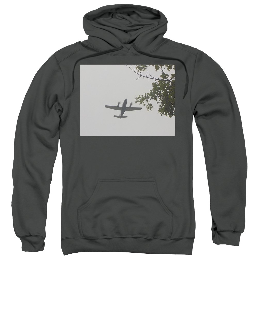 Sky Sweatshirt featuring the photograph Fly Home by Lynn Sobecke