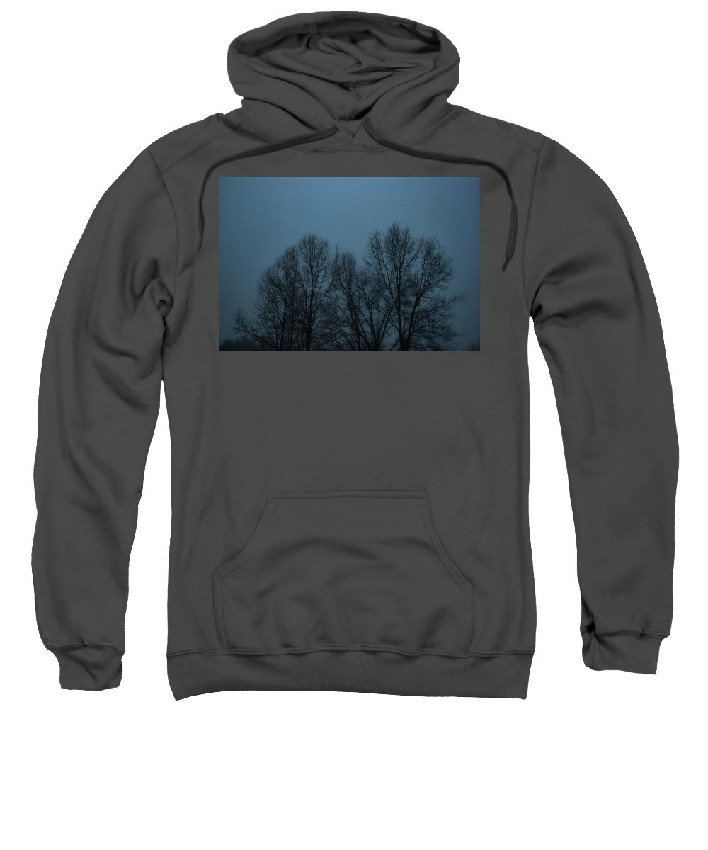 Fog Sweatshirt featuring the photograph Foggy Day by Scott W Moore