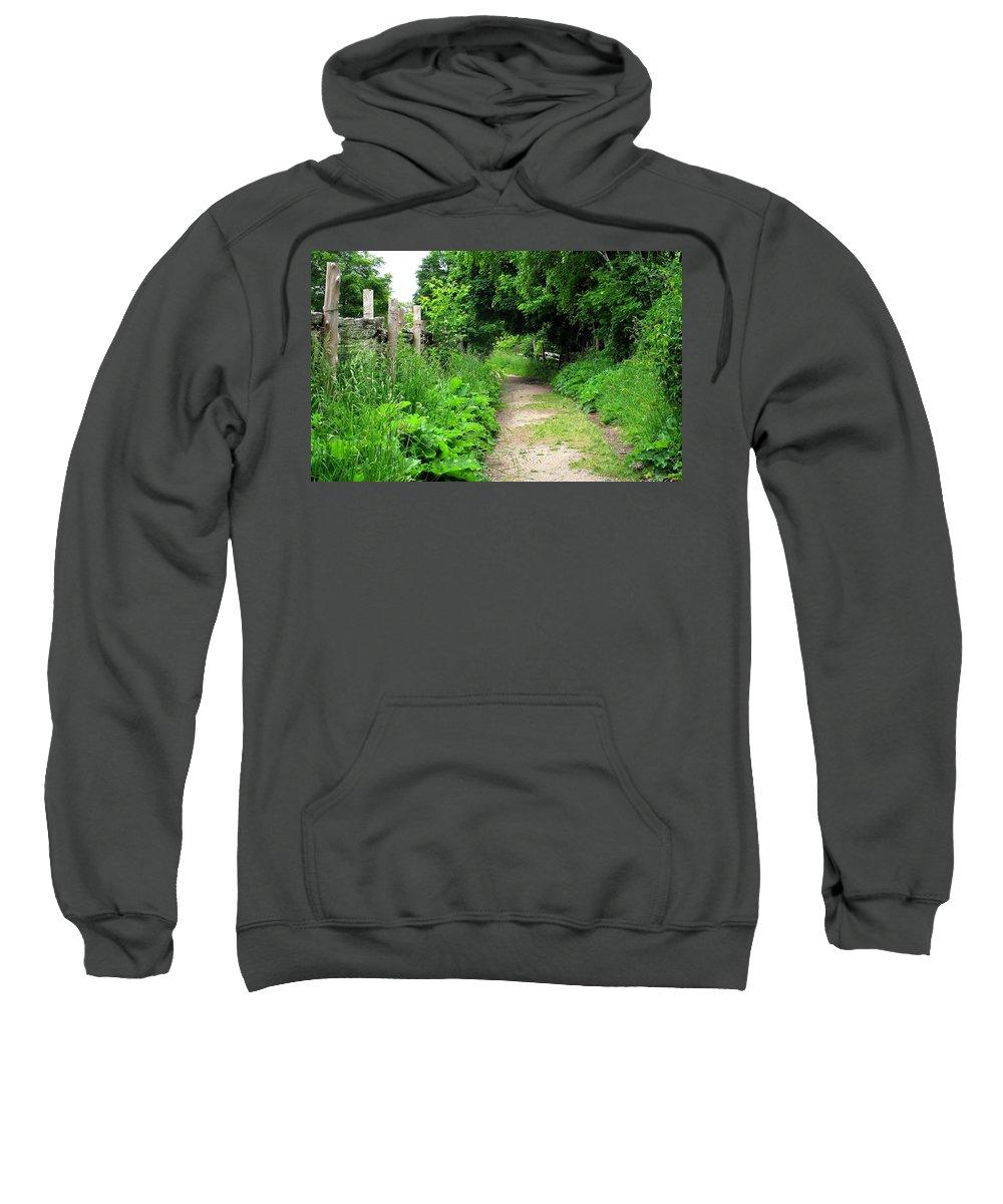 Path Sweatshirt featuring the photograph Follow by Ian MacDonald