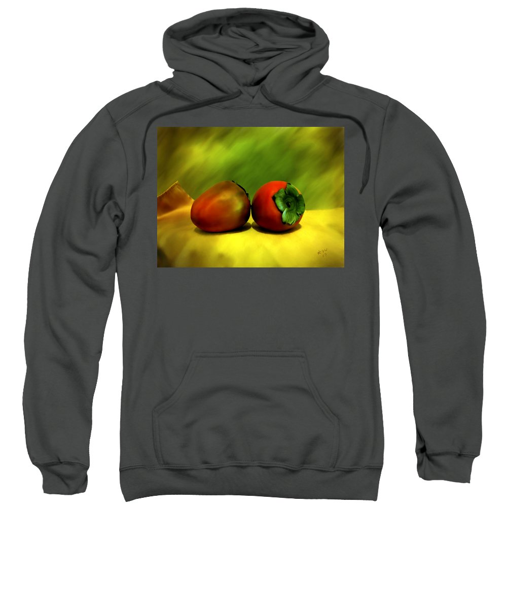 Still Life Sweatshirt featuring the photograph Food For The Gods by Kurt Van Wagner