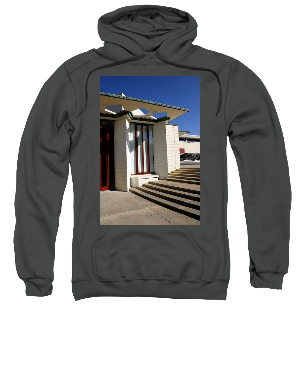 Frank Lloyd Wright Sweatshirt featuring the photograph For The Love Of Architecture 02 by Remmy Ar'emen