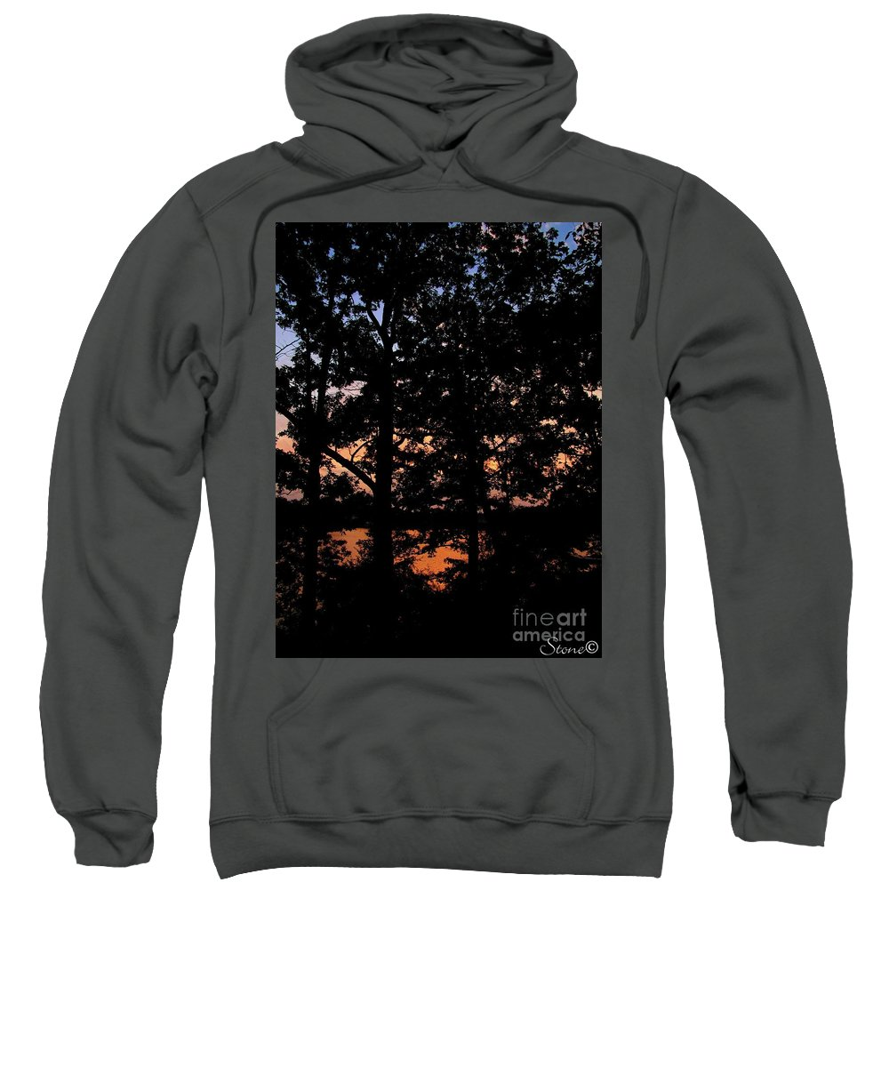 Landscape Sweatshirt featuring the photograph For You by September Stone