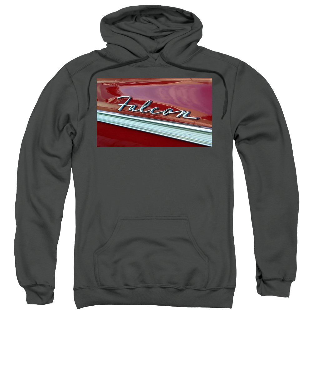 Fine Art Photography Sweatshirt featuring the photograph Ford Falcon by David Lee Thompson