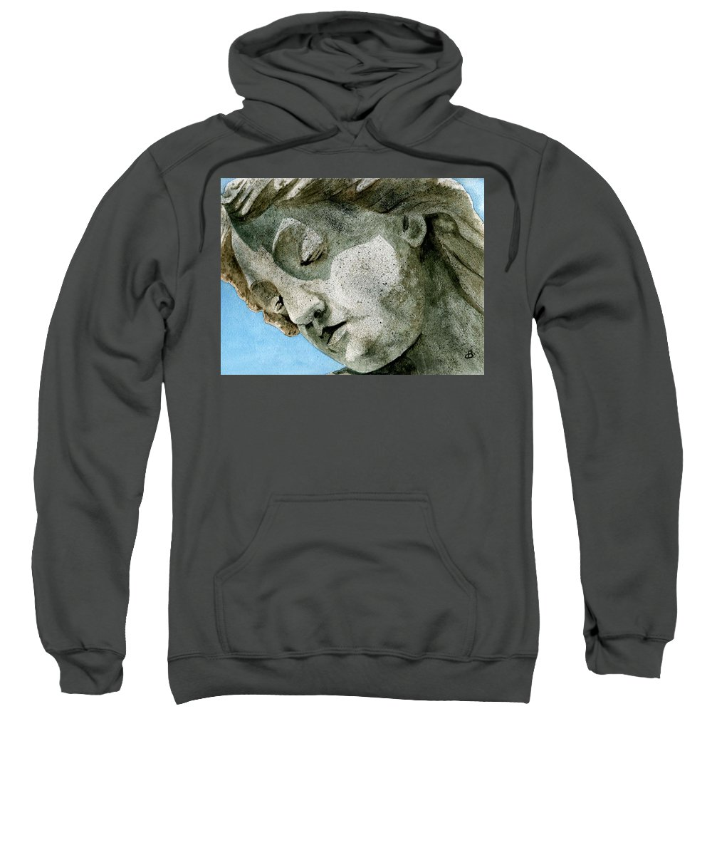 Woman Sweatshirt featuring the painting Forever Yours by Brenda Owen