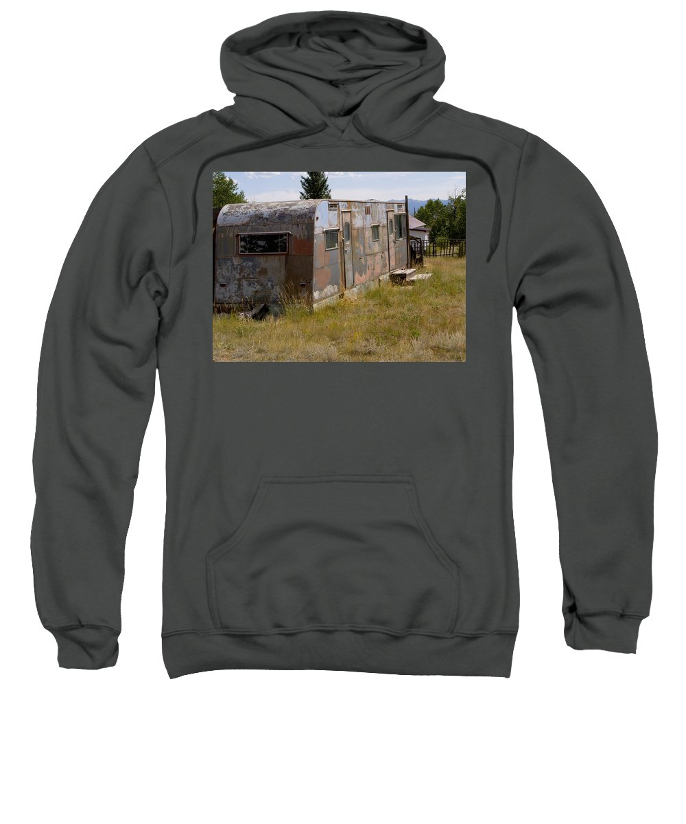 Landscape Sweatshirt featuring the photograph Forgotten Home by Jeffery Ball