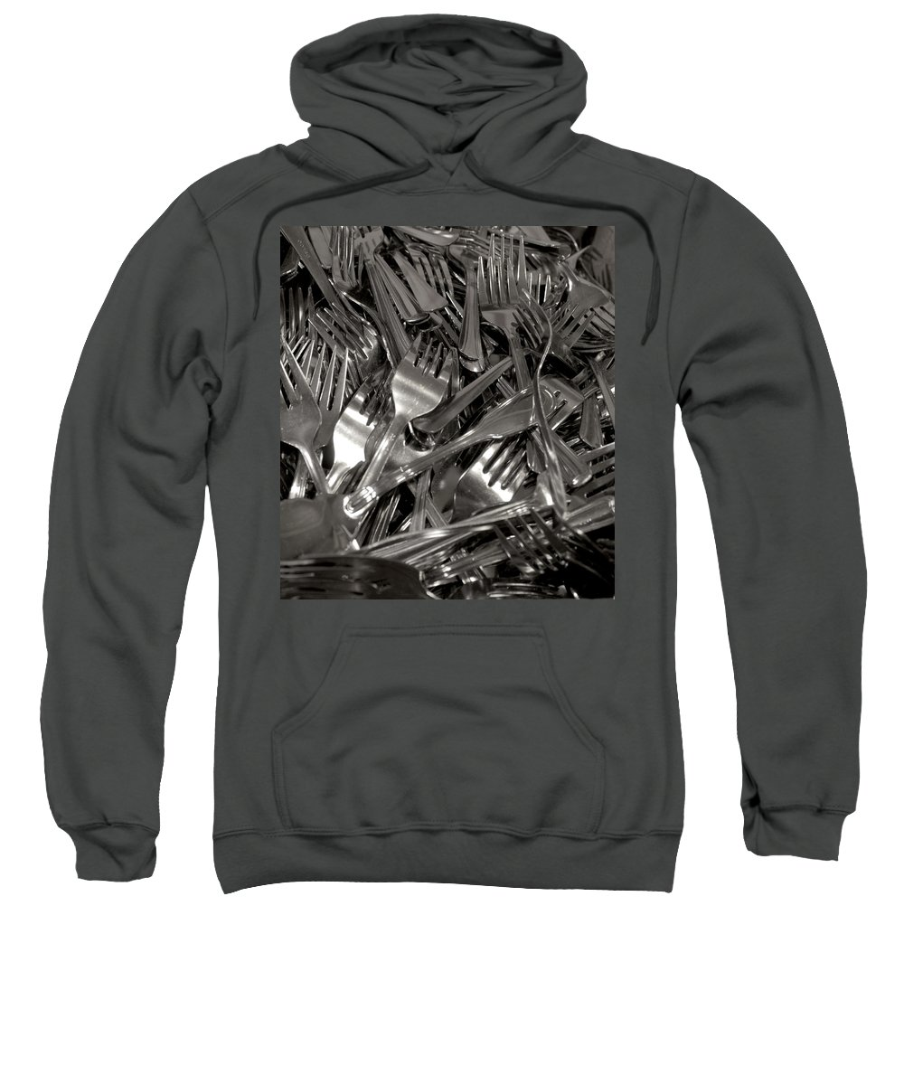Forks Sweatshirt featuring the photograph Forks by Henri Irizarri