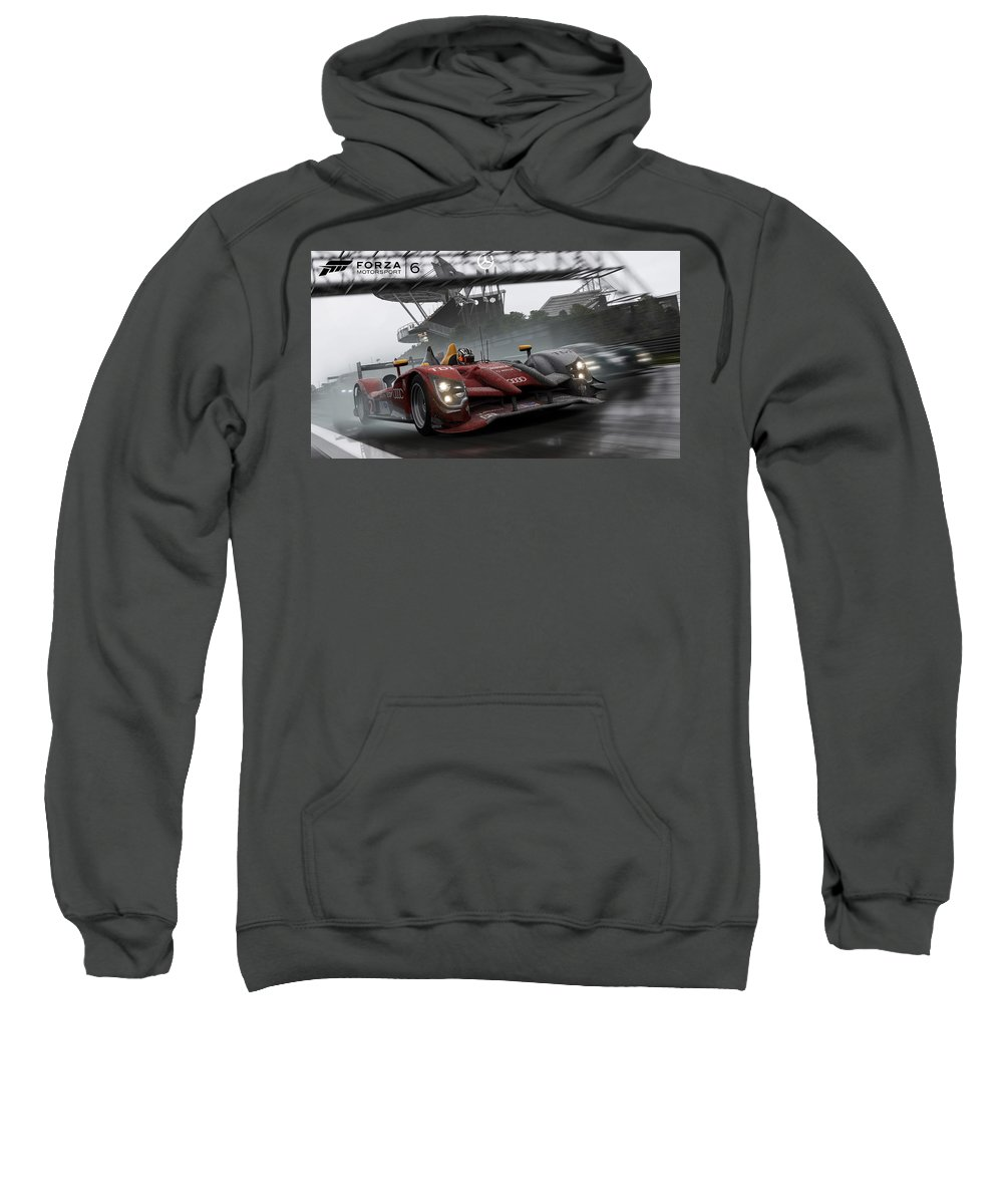 Forza Motorsport 6 Sweatshirt featuring the digital art Forza Motorsport 6 by Bert Mailer