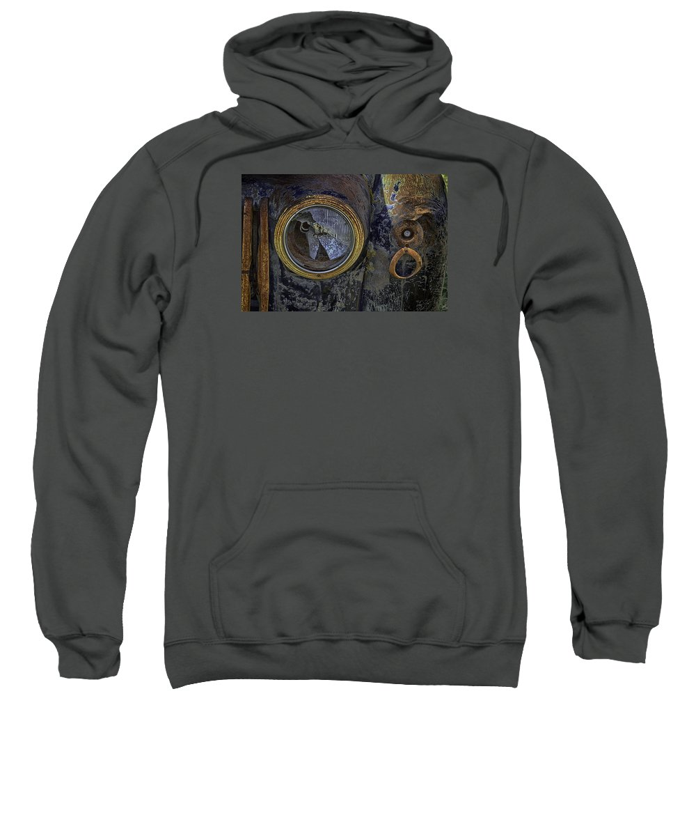 Auto Sweatshirt featuring the photograph Fractured Dream by Elizabeth Eldridge