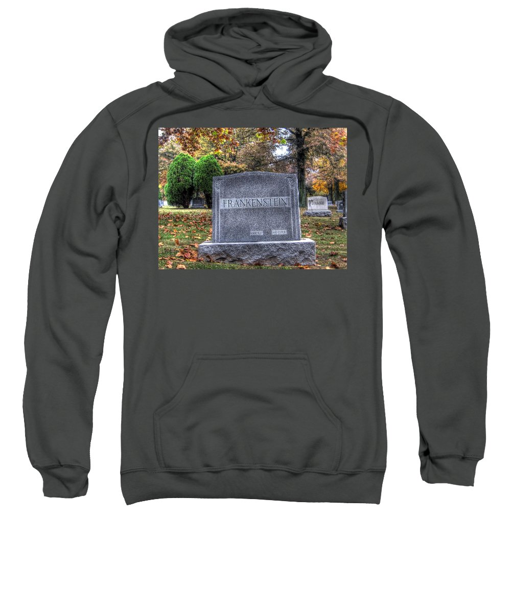 Hdr Sweatshirt featuring the photograph Frankenstein by Jane Linders