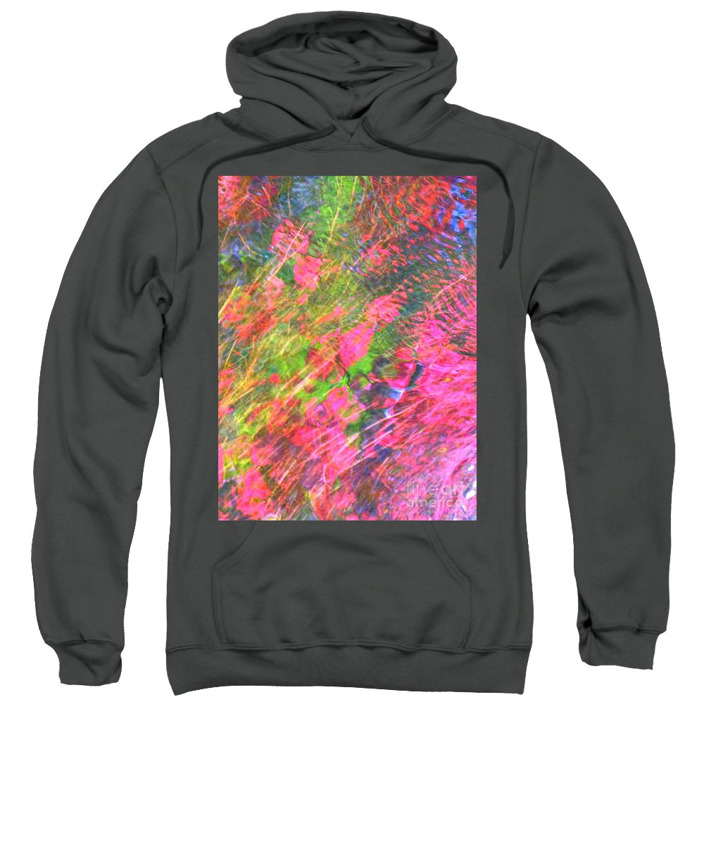 Abstract Sweatshirt featuring the photograph Free And Wild As The Wind by Sybil Staples