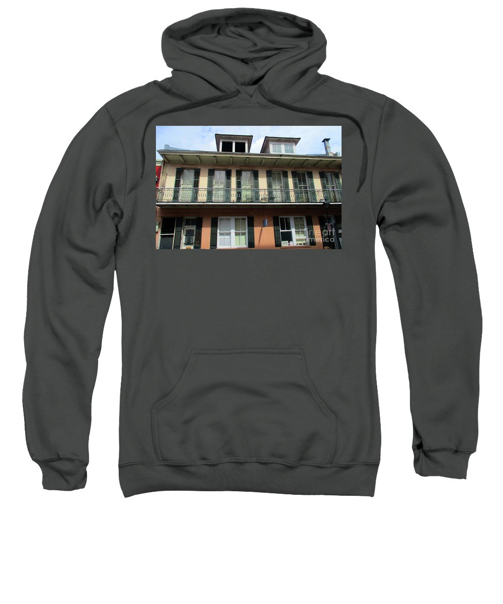 French Quarter Sweatshirt featuring the photograph French Quarter 19 by Randall Weidner