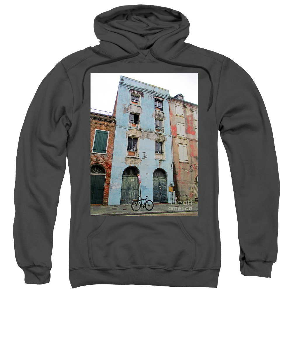 French Quarter Sweatshirt featuring the photograph French Quarter 2 by Randall Weidner