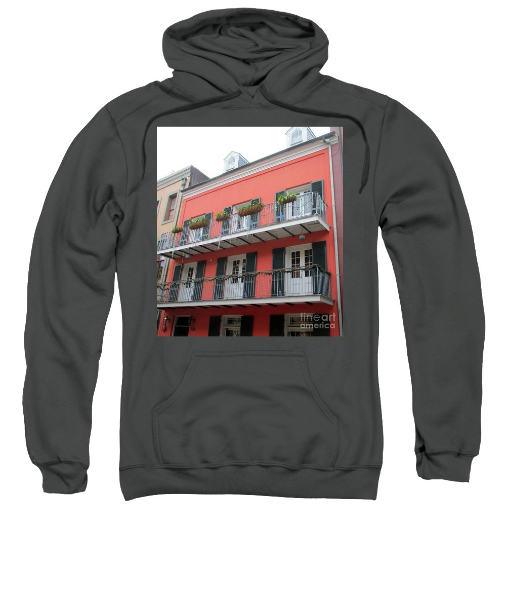 French Quarter Sweatshirt featuring the photograph French Quarter 21 by Randall Weidner