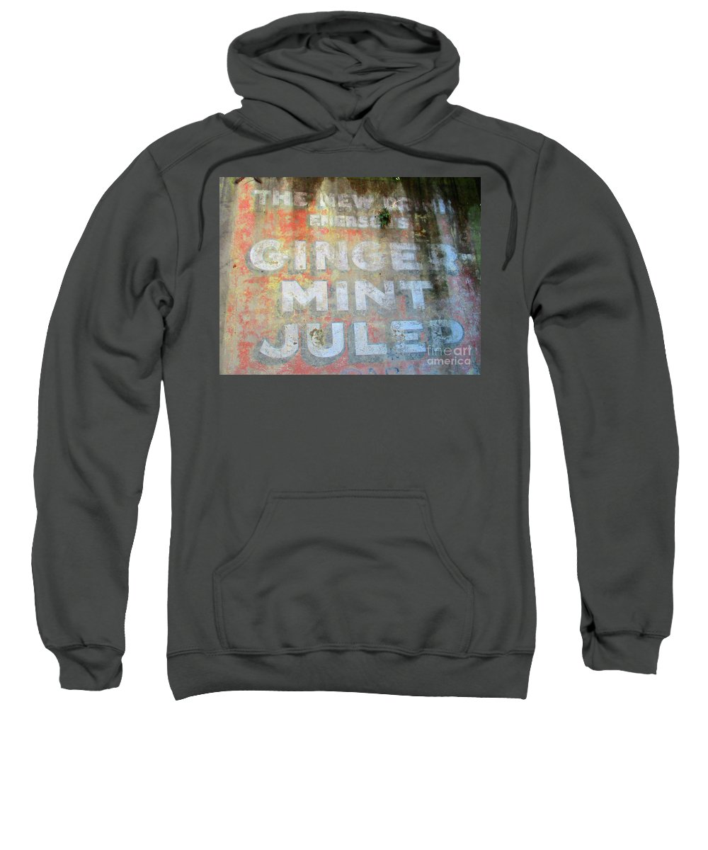 French Quarter Sweatshirt featuring the photograph French Quarter 25 by Randall Weidner