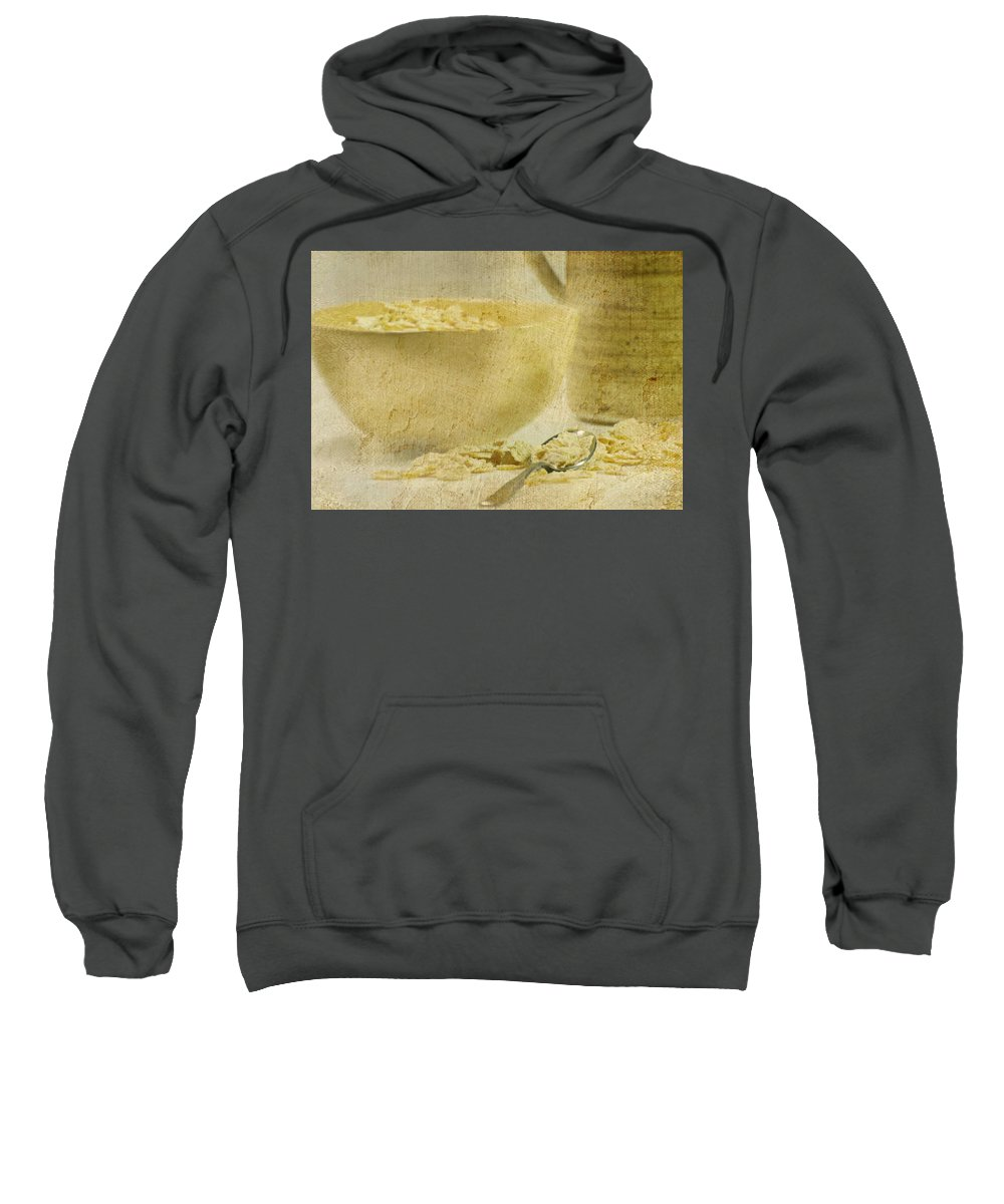 Still Life Sweatshirt featuring the photograph Frosted Flakes by Diana Angstadt