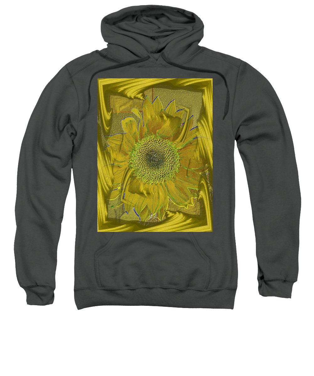 Flower Sweatshirt featuring the photograph Fulfillment by Tim Allen