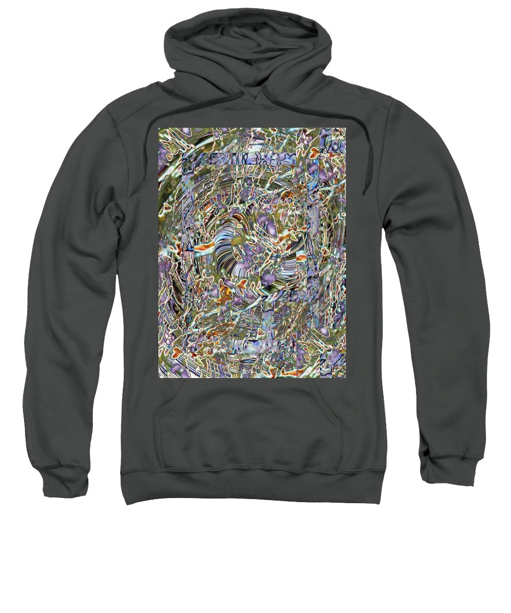 Fused Sweatshirt featuring the photograph Fused by Tim Allen