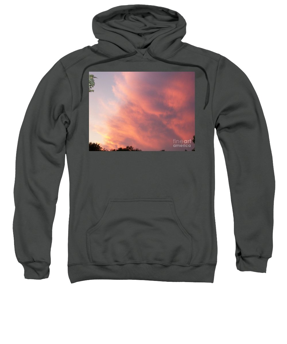 Nature Sweatshirt featuring the photograph Futile Faces by Stephen King