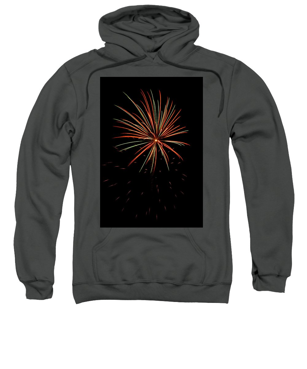 Fireworks Sweatshirt featuring the photograph Fwsc 2014-11 by Frank Henley